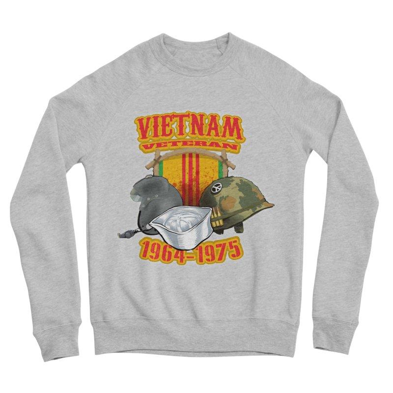 Veteran's Honor Women's Sponge Fleece Sweatshirt by goofyink's Artist Shop