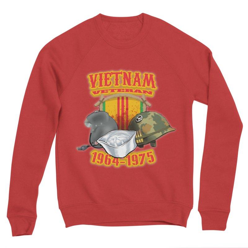 Veteran's Honor Men's Sponge Fleece Sweatshirt by goofyink's Artist Shop