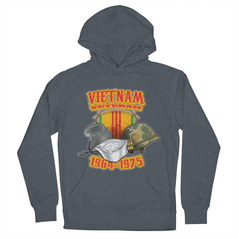Veteran's Honor Women's French Terry Pullover Hoody by goofyink's Artist Shop