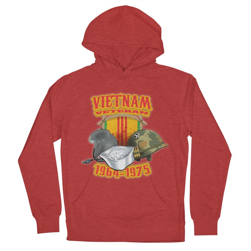 Veteran's Honor Men's French Terry Pullover Hoody by goofyink's Artist Shop