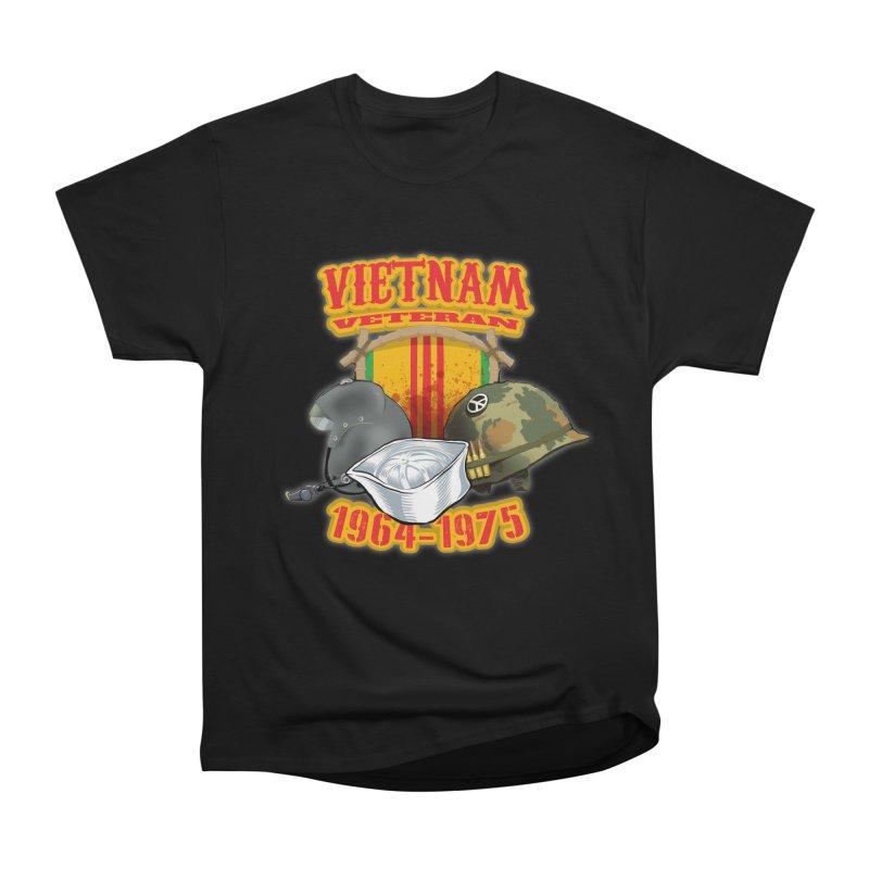 Veteran's Honor Men's Heavyweight T-Shirt by goofyink's Artist Shop