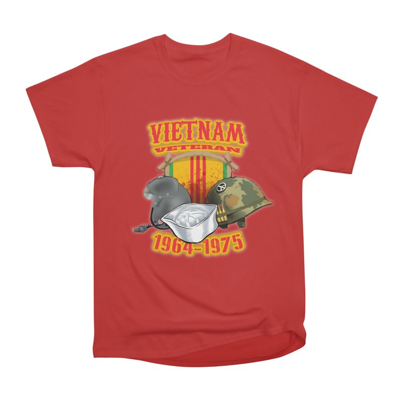 Veteran's Honor Women's Heavyweight Unisex T-Shirt by goofyink's Artist Shop
