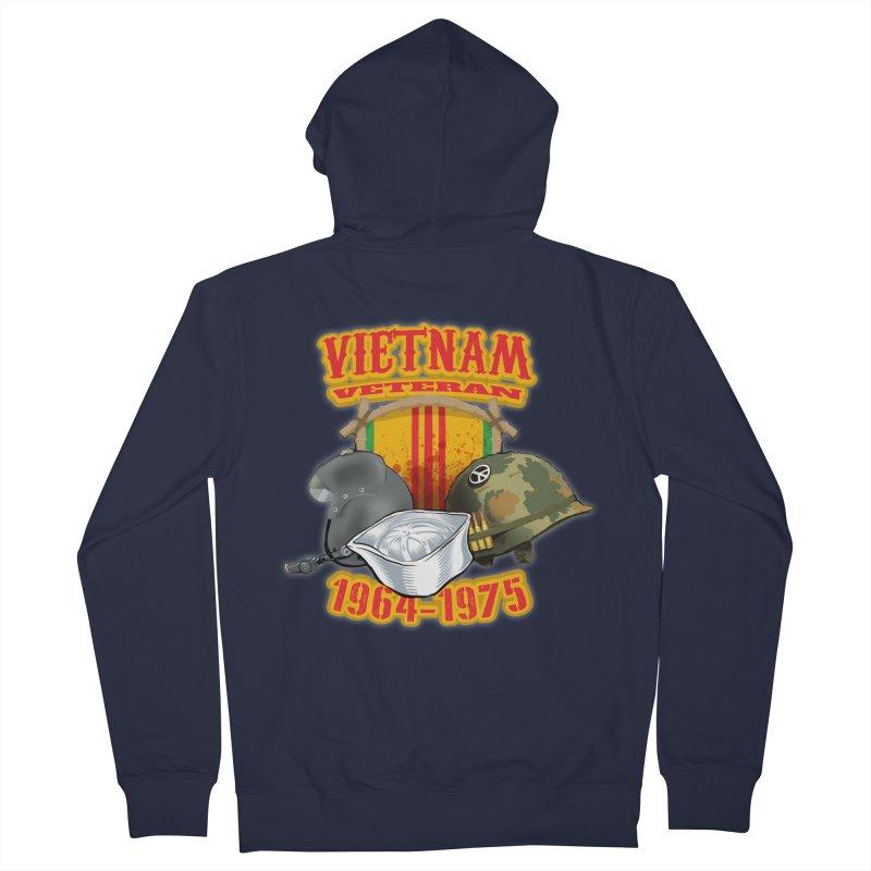 Veteran's Honor Men's Zip-Up Hoody by goofyink's Artist Shop