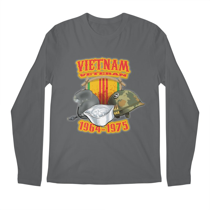 Veteran's Honor Men's Longsleeve T-Shirt by goofyink's Artist Shop