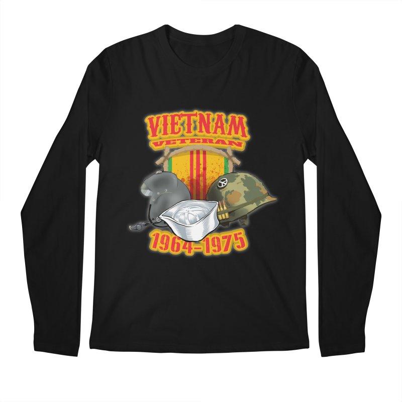 Veteran's Honor Men's Longsleeve T-Shirt by goofyink's Artist Shop