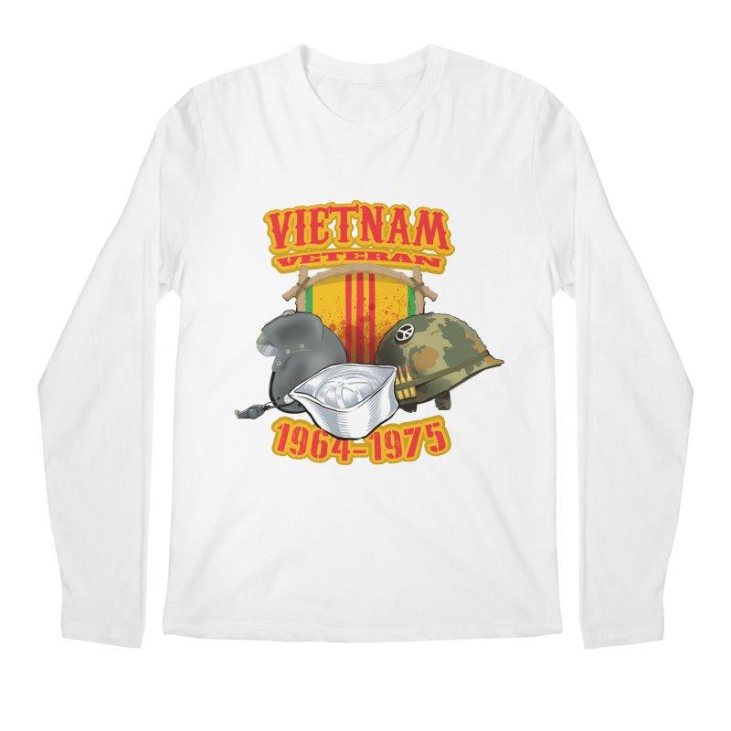 Veteran's Honor Men's Regular Longsleeve T-Shirt by goofyink's Artist Shop