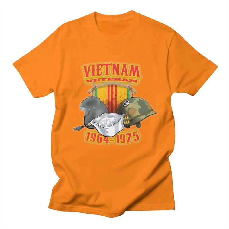 Veteran's Honor Men's T-Shirt by goofyink's Artist Shop