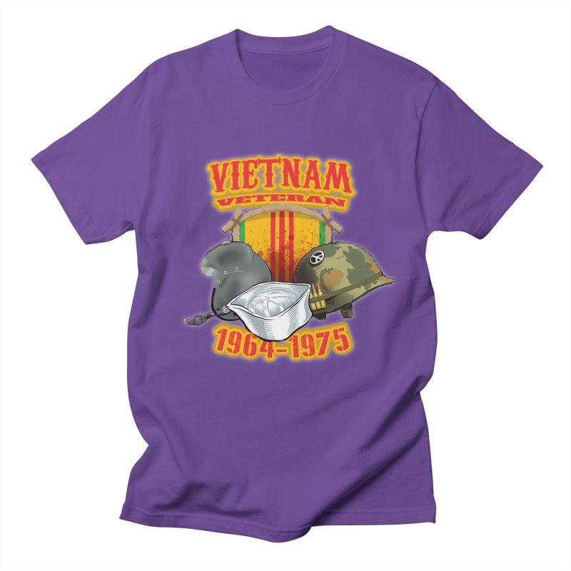 Veteran's Honor Women's Regular Unisex T-Shirt by goofyink's Artist Shop