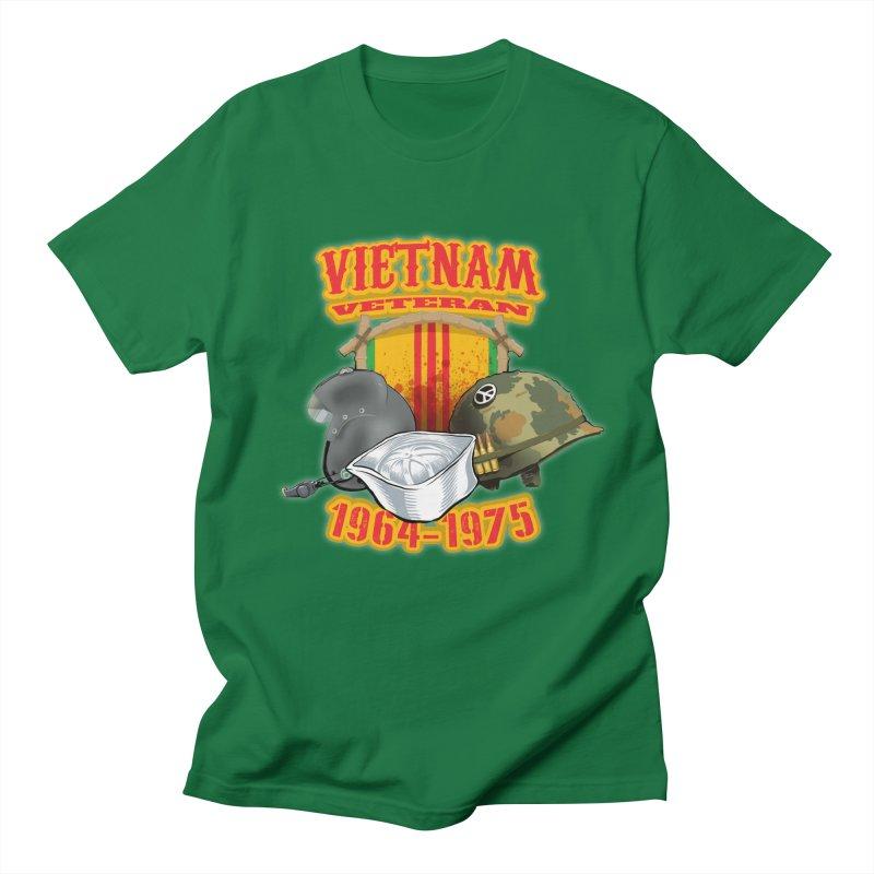 Veteran's Honor Men's Regular T-Shirt by goofyink's Artist Shop