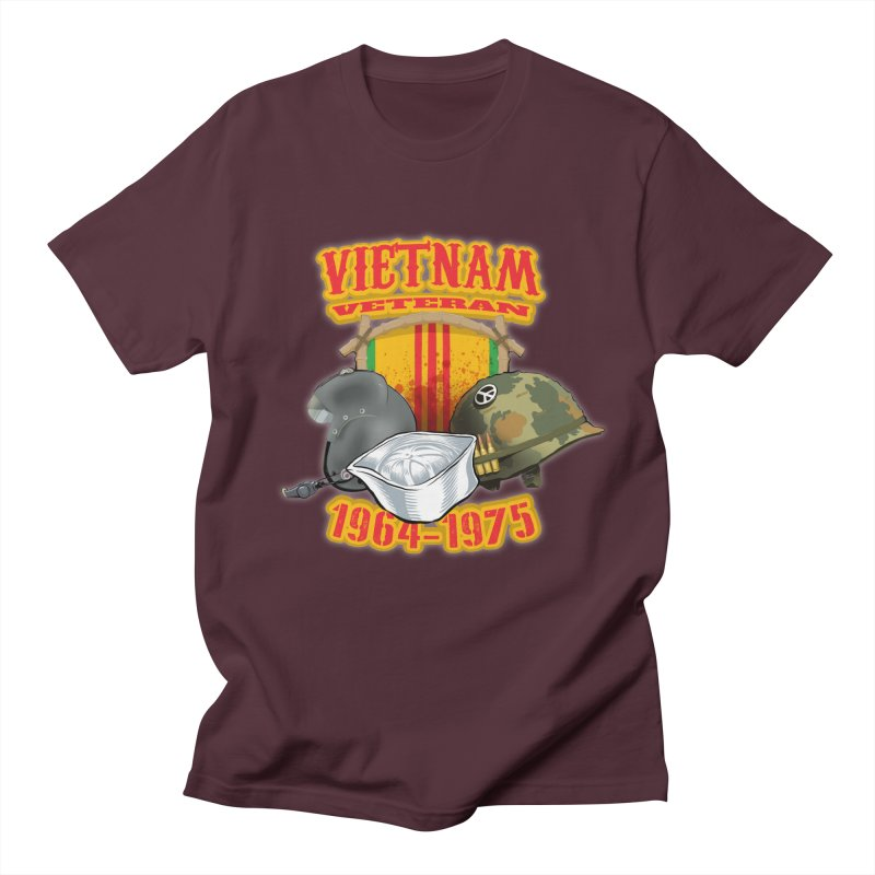 Veteran's Honor Men's Regular T-Shirt by goofyink's Artist Shop