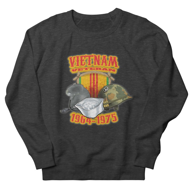 Veteran's Honor Women's French Terry Sweatshirt by goofyink's Artist Shop