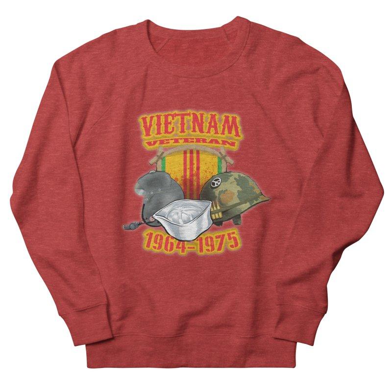 Veteran's Honor Men's French Terry Sweatshirt by goofyink's Artist Shop
