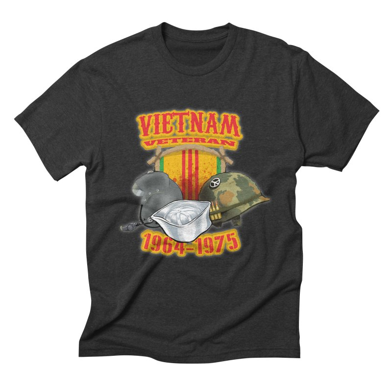 Veteran's Honor Men's Triblend T-Shirt by goofyink's Artist Shop