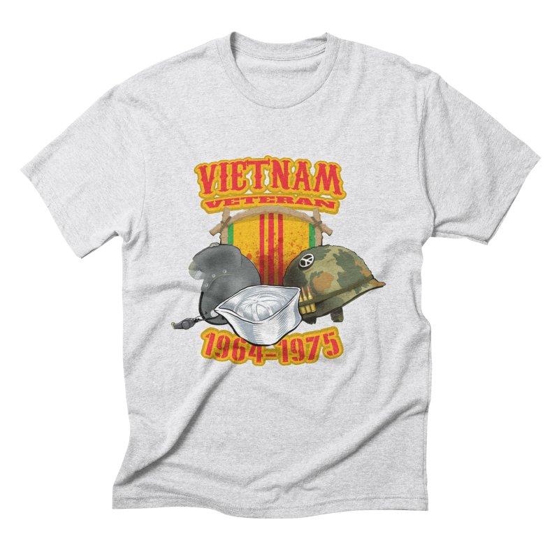 Veteran's Honor Men's Triblend T-Shirt by goofyink's Artist Shop
