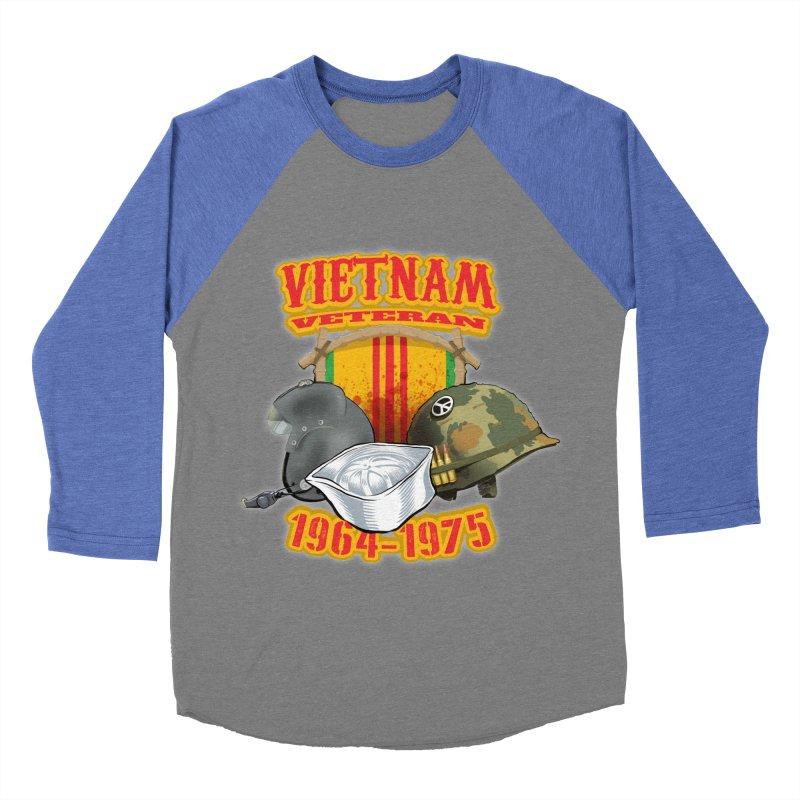 Veteran's Honor Men's Baseball Triblend Longsleeve T-Shirt by goofyink's Artist Shop