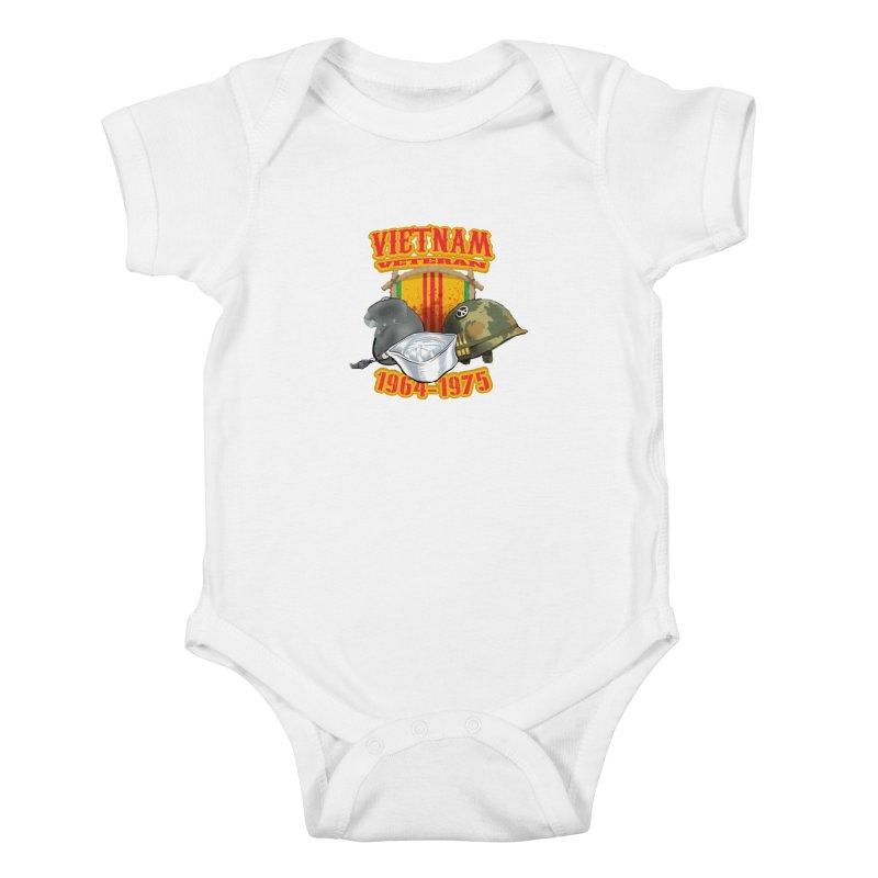 Veteran's Honor Kids Baby Bodysuit by goofyink's Artist Shop