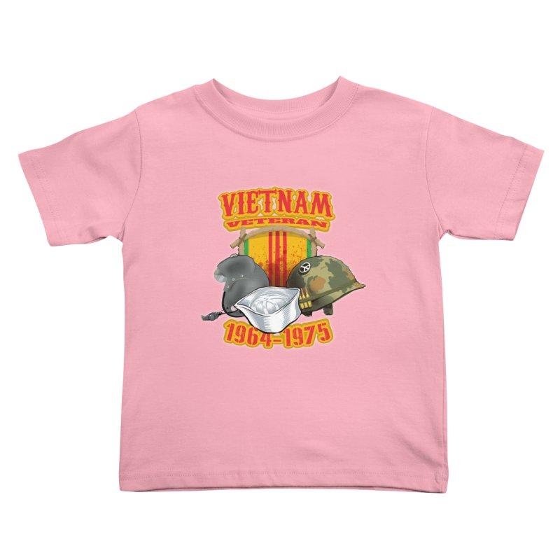 Veteran's Honor Kids Toddler T-Shirt by goofyink's Artist Shop
