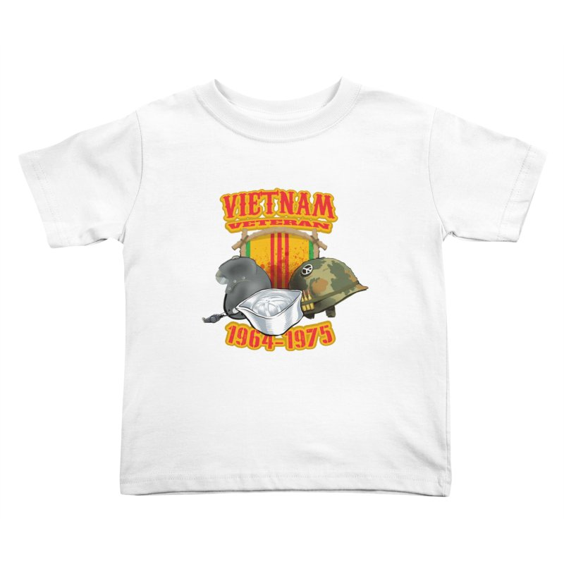Veteran's Honor Kids Toddler T-Shirt by goofyink's Artist Shop