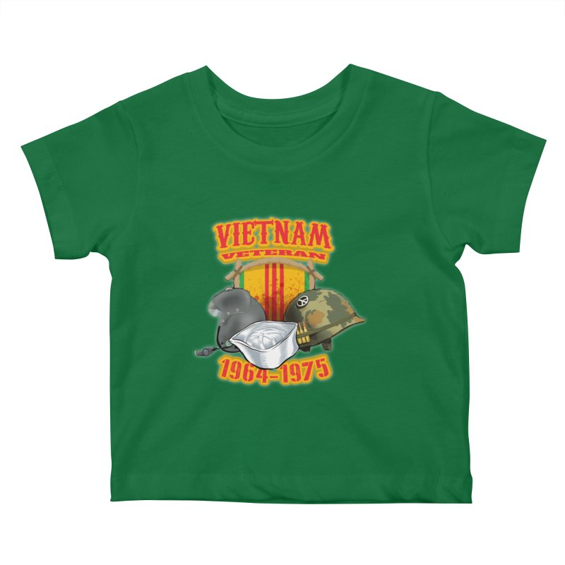 Veteran's Honor Kids Baby T-Shirt by goofyink's Artist Shop