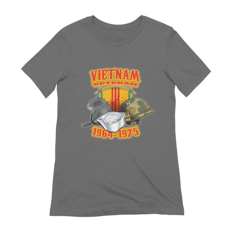 Veteran's Honor Women's T-Shirt by goofyink's Artist Shop