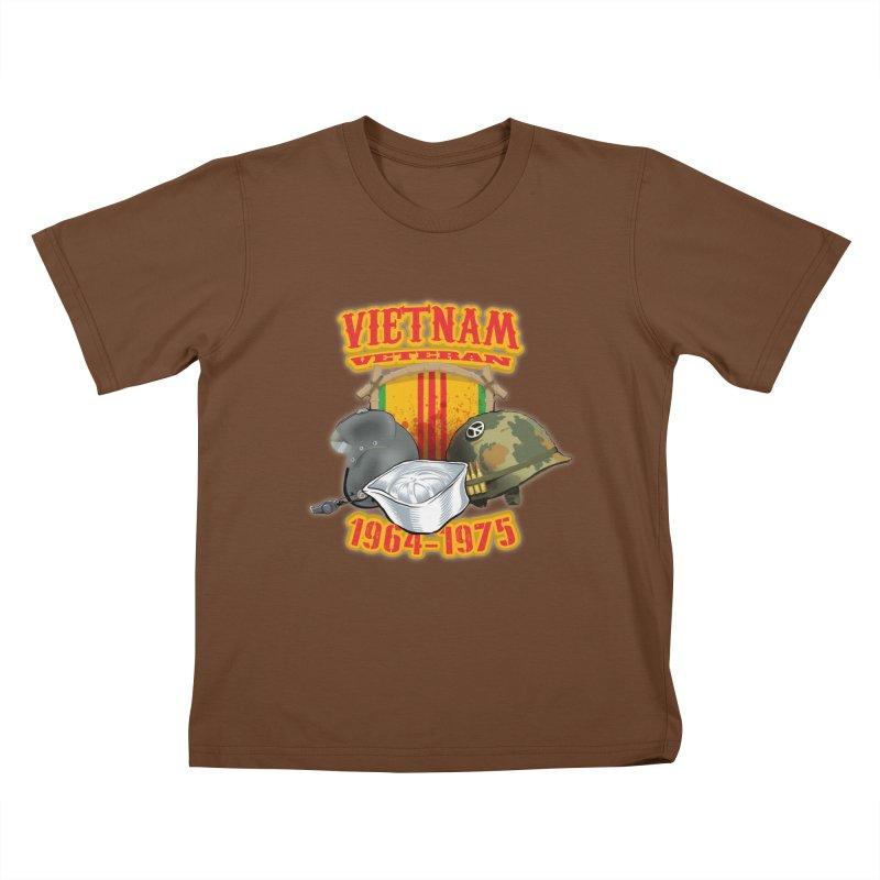 Veteran's Honor Kids T-Shirt by goofyink's Artist Shop