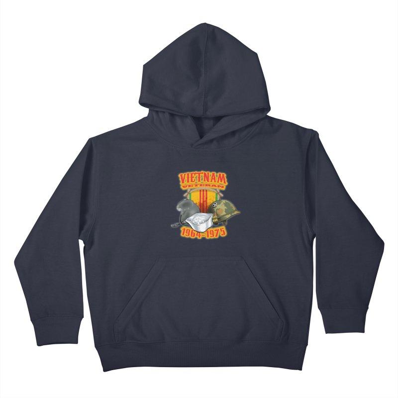 Veteran's Honor Kids Pullover Hoody by goofyink's Artist Shop