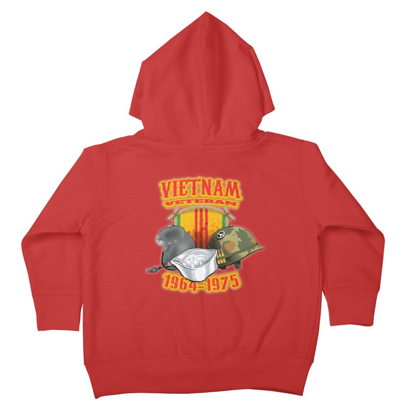 Veteran's Honor Kids Toddler Zip-Up Hoody by goofyink's Artist Shop