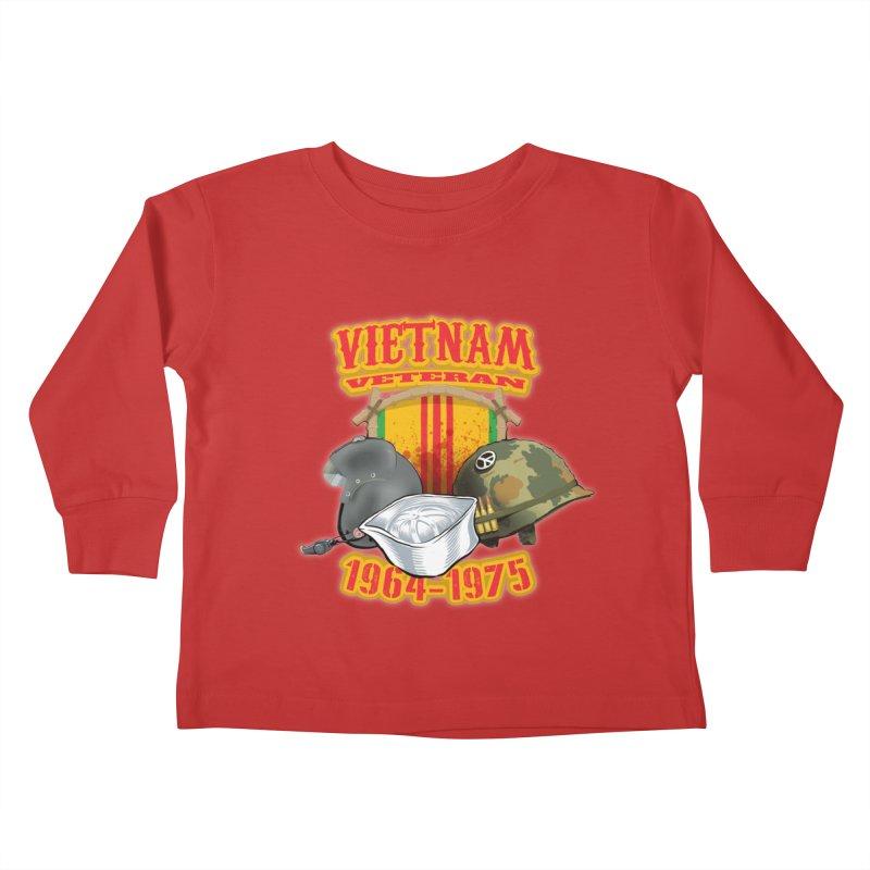 Veteran's Honor Kids Toddler Longsleeve T-Shirt by goofyink's Artist Shop