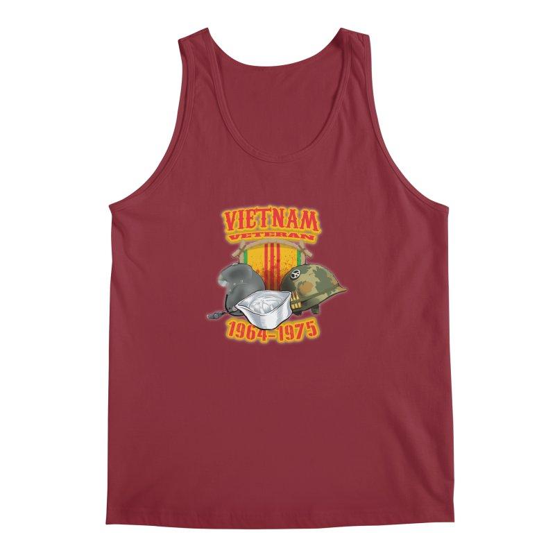 Veteran's Honor Men's Regular Tank by goofyink's Artist Shop