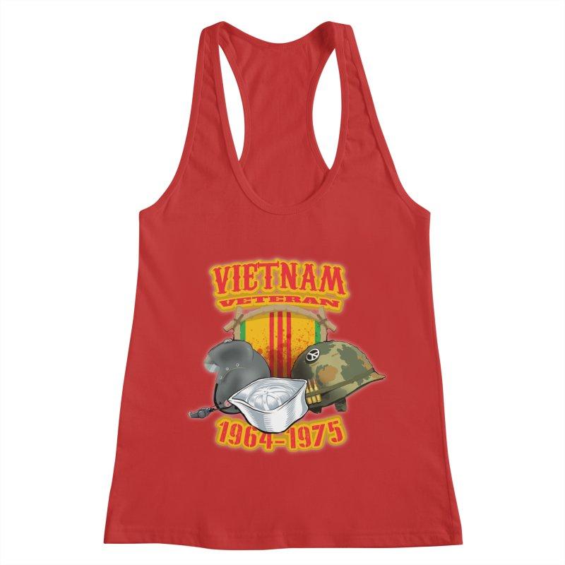 Veteran's Honor Women's Racerback Tank by goofyink's Artist Shop