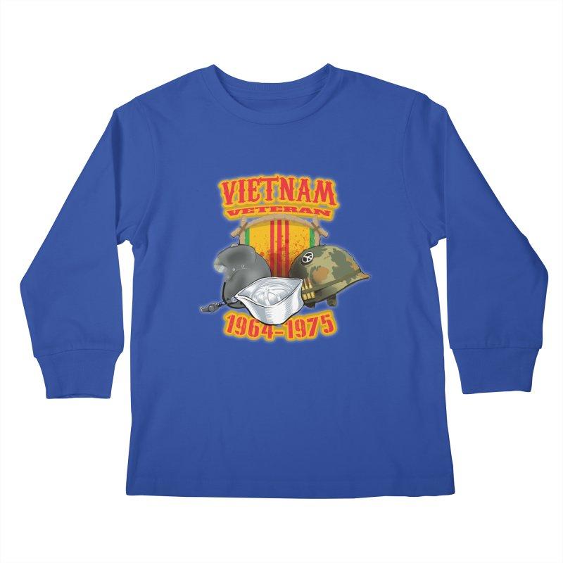 Veteran's Honor Kids Longsleeve T-Shirt by goofyink's Artist Shop