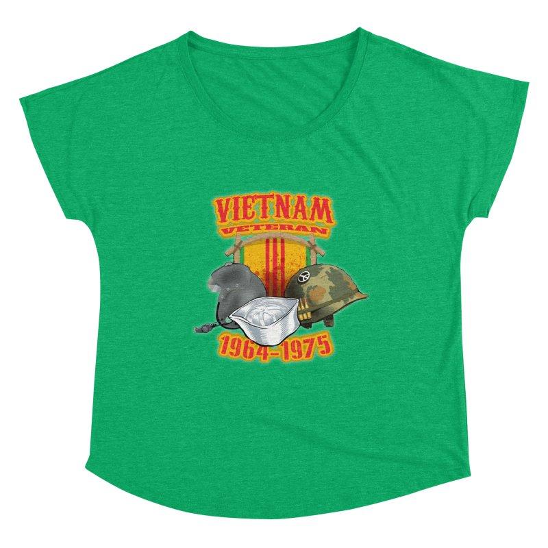 Veteran's Honor Women's Scoop Neck by goofyink's Artist Shop