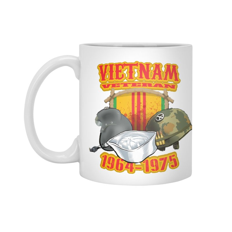 Veteran's Honor Accessories Standard Mug by goofyink's Artist Shop
