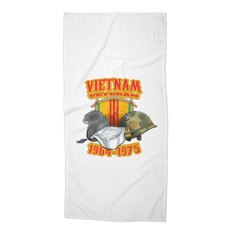 Veteran's Honor Accessories Beach Towel by goofyink's Artist Shop