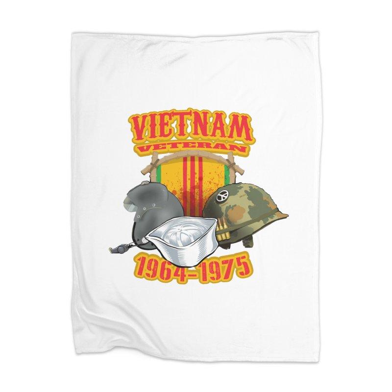 Veteran's Honor Home Blanket by goofyink's Artist Shop