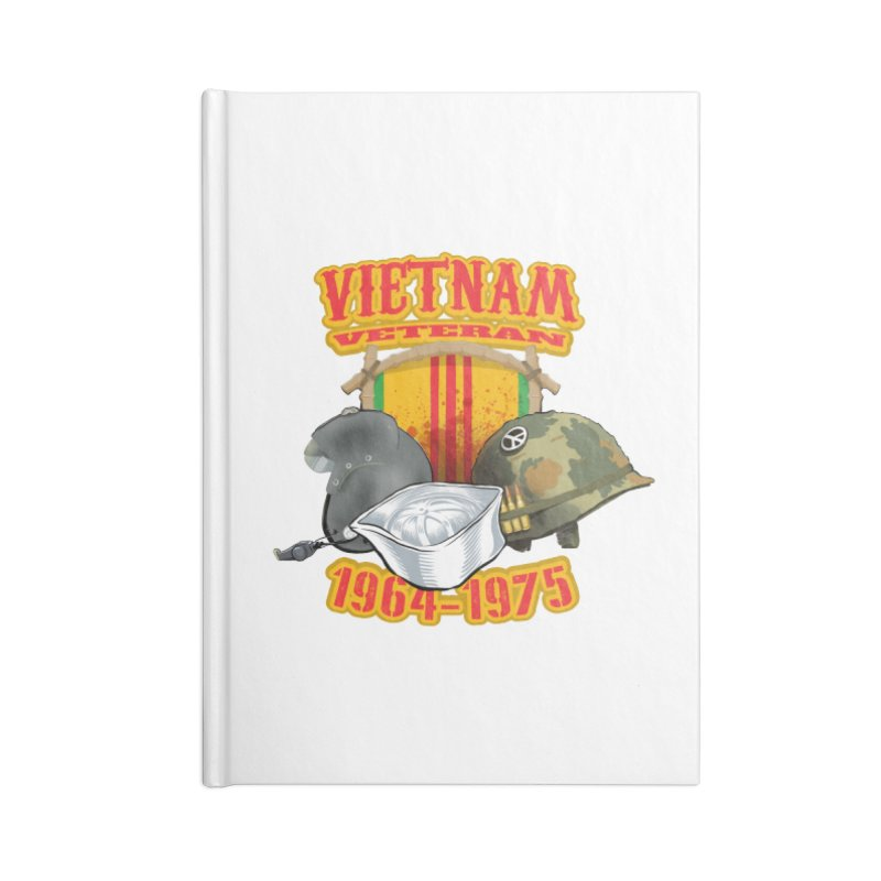 Veteran's Honor Accessories Lined Journal Notebook by goofyink's Artist Shop