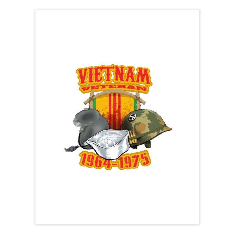 Veteran's Honor Home Fine Art Print by goofyink's Artist Shop