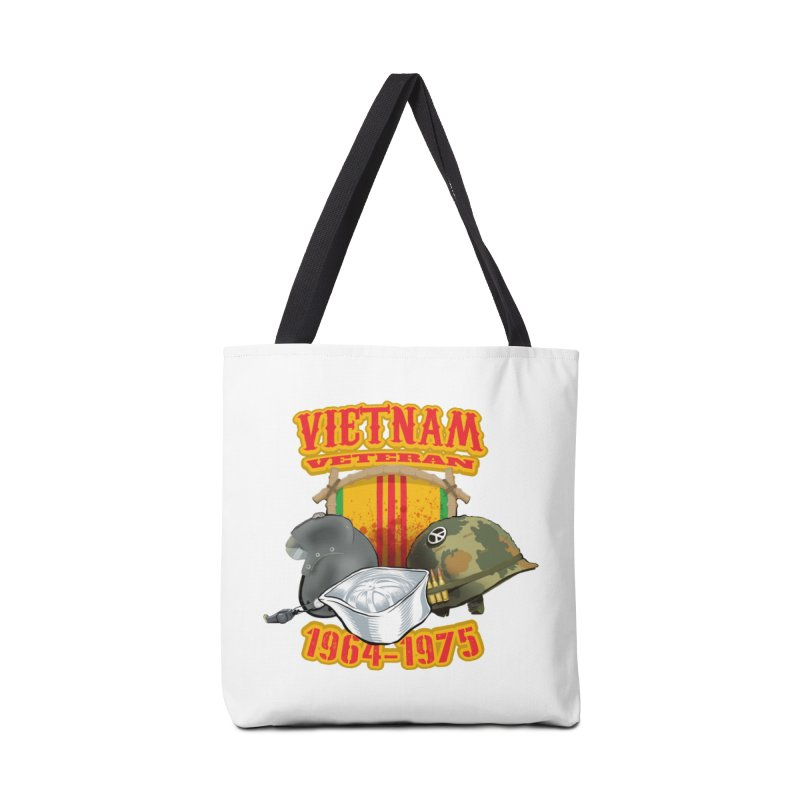 Veteran's Honor Accessories Tote Bag Bag by goofyink's Artist Shop