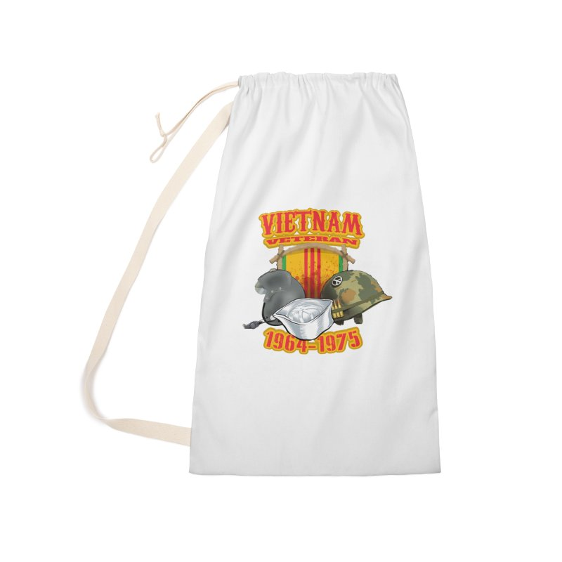 Veteran's Honor Accessories Laundry Bag Bag by goofyink's Artist Shop