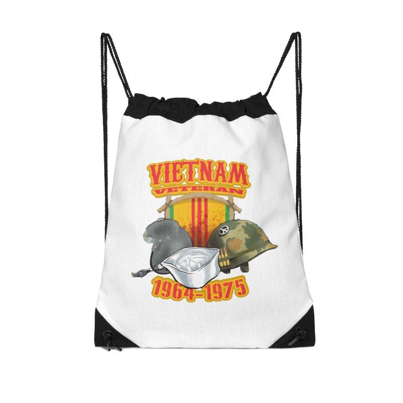 Veteran's Honor Accessories Bag by goofyink's Artist Shop