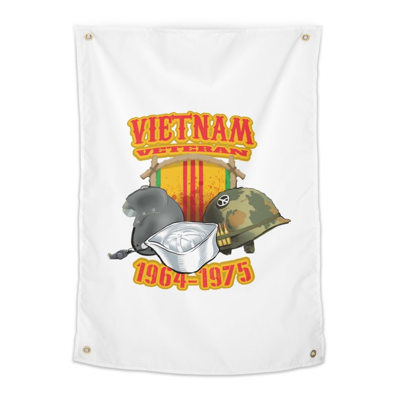 Veteran's Honor Home Tapestry by goofyink's Artist Shop