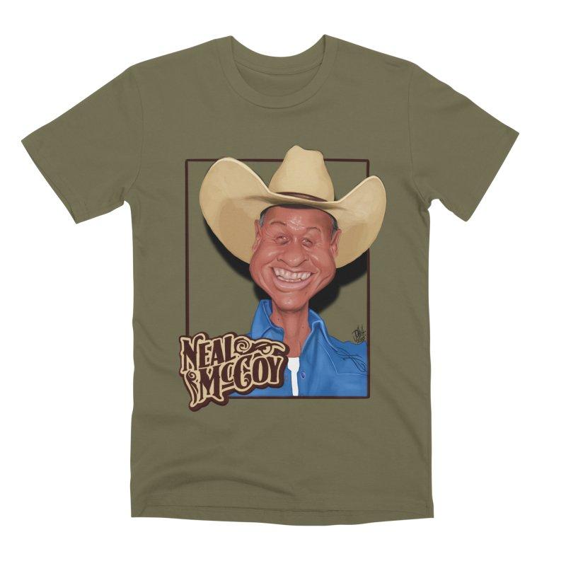 Country Legends Neal McCoy Men's Premium T-Shirt by goofyink's Artist Shop
