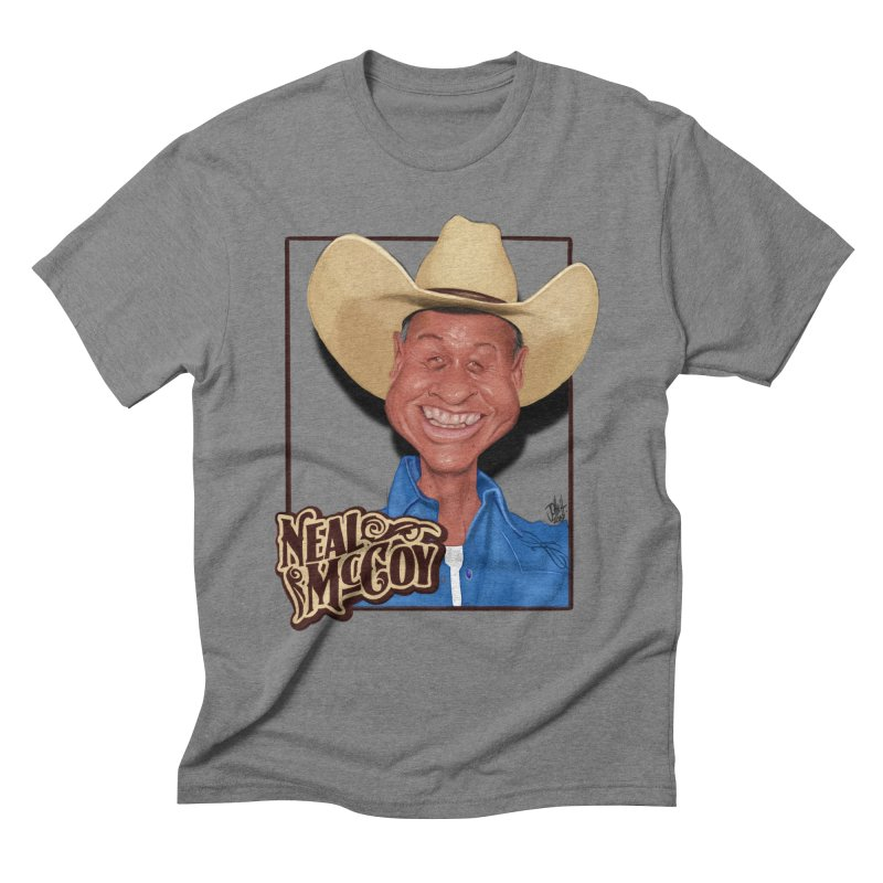 Country Legends Neal McCoy Men's T-Shirt by goofyink's Artist Shop