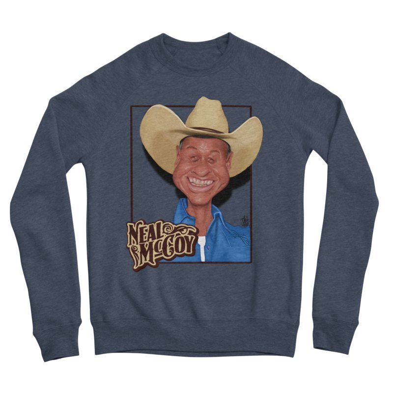 Country Legends Neal McCoy Women's Sponge Fleece Sweatshirt by goofyink's Artist Shop