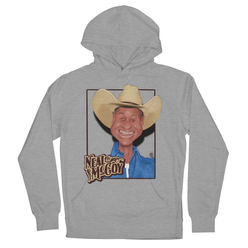 Country Legends Neal McCoy Women's French Terry Pullover Hoody by goofyink's Artist Shop