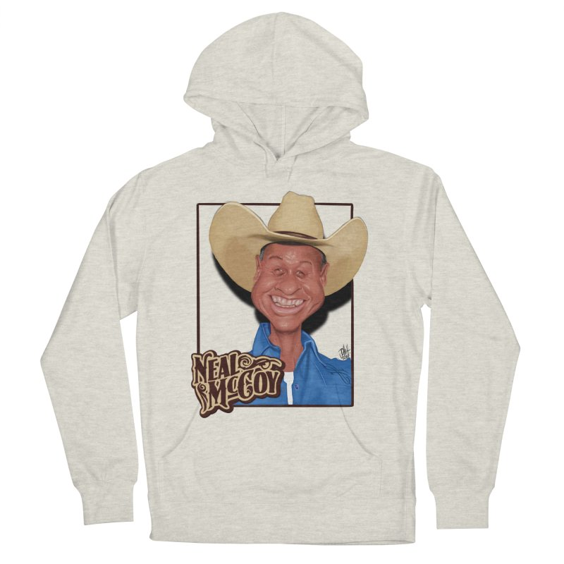 Country Legends Neal McCoy Men's French Terry Pullover Hoody by goofyink's Artist Shop