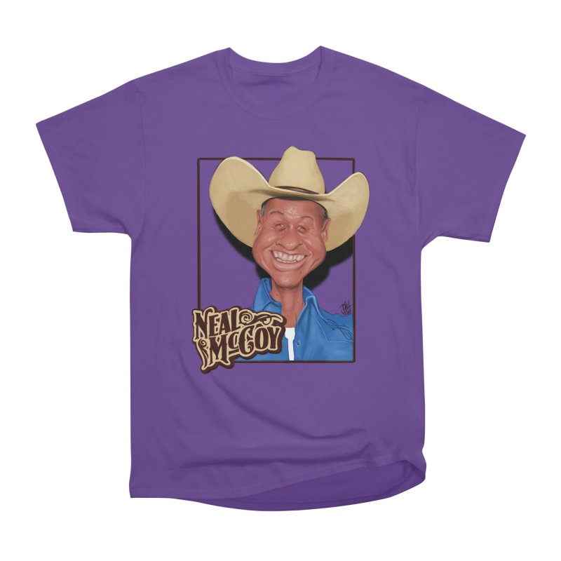 Country Legends Neal McCoy Women's Heavyweight Unisex T-Shirt by goofyink's Artist Shop