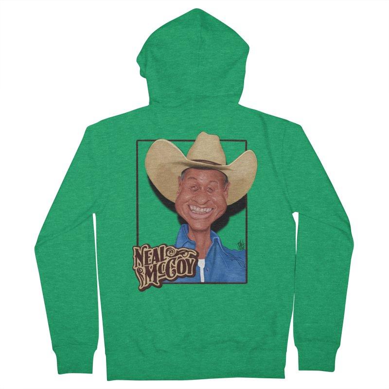 Country Legends Neal McCoy Men's Zip-Up Hoody by goofyink's Artist Shop
