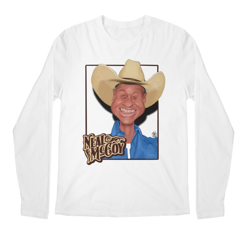 Country Legends Neal McCoy Men's Longsleeve T-Shirt by goofyink's Artist Shop