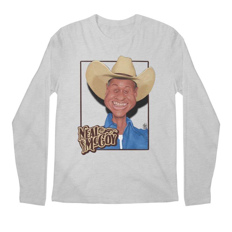 Country Legends Neal McCoy Men's Regular Longsleeve T-Shirt by goofyink's Artist Shop